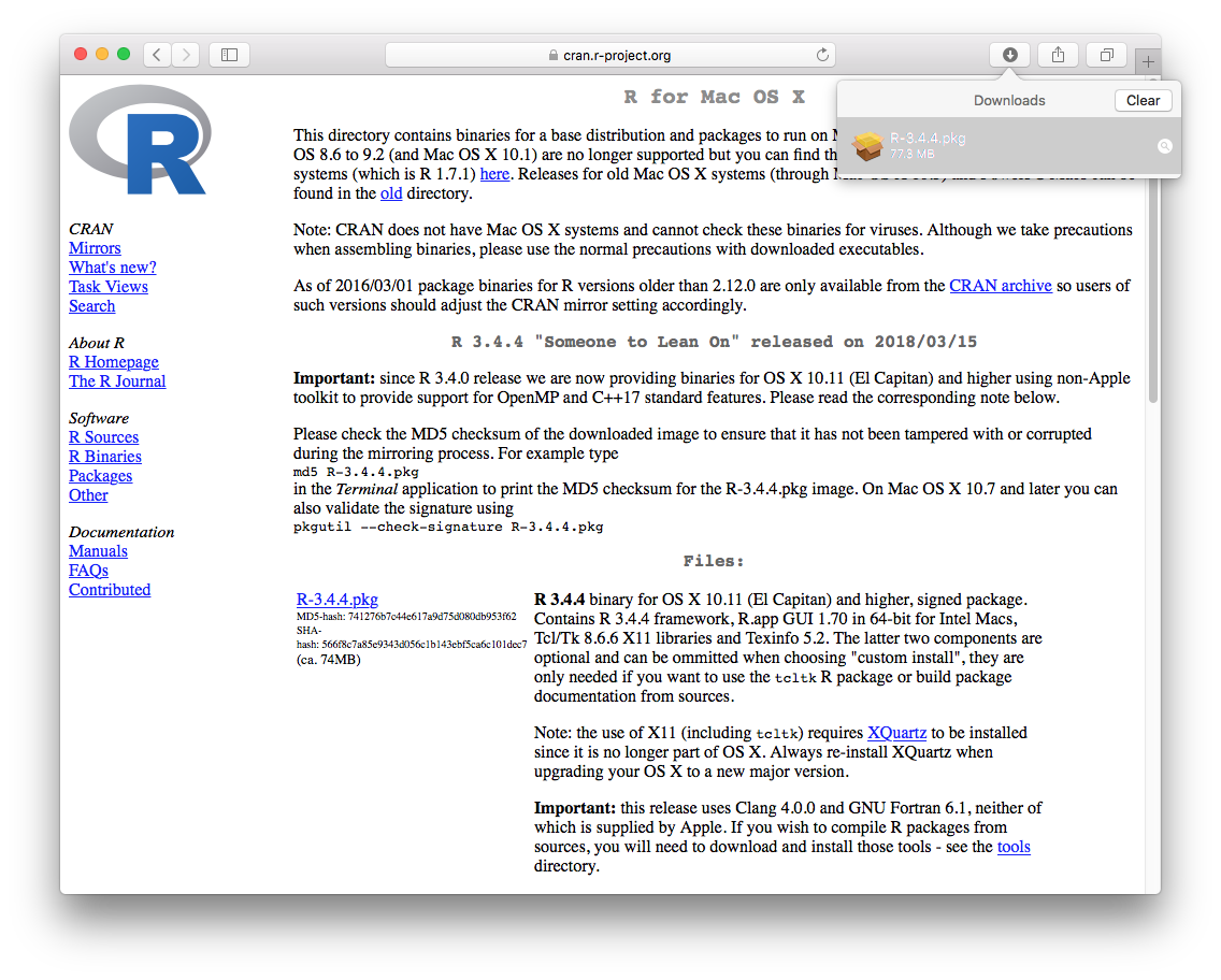 Chapter 1 Installing R and RStudio   Introduction to Data