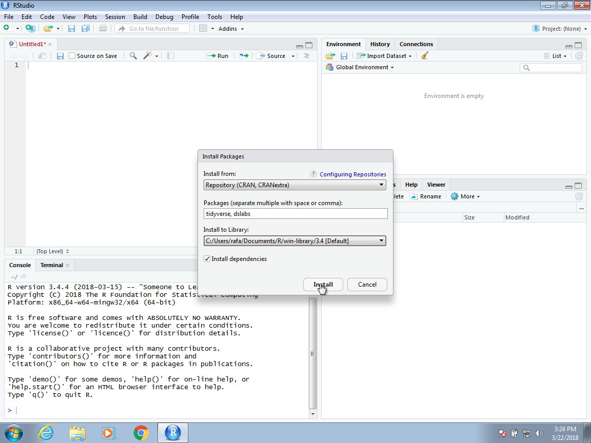 Chapter 2 Getting Started with R and RStudio   Introduction
